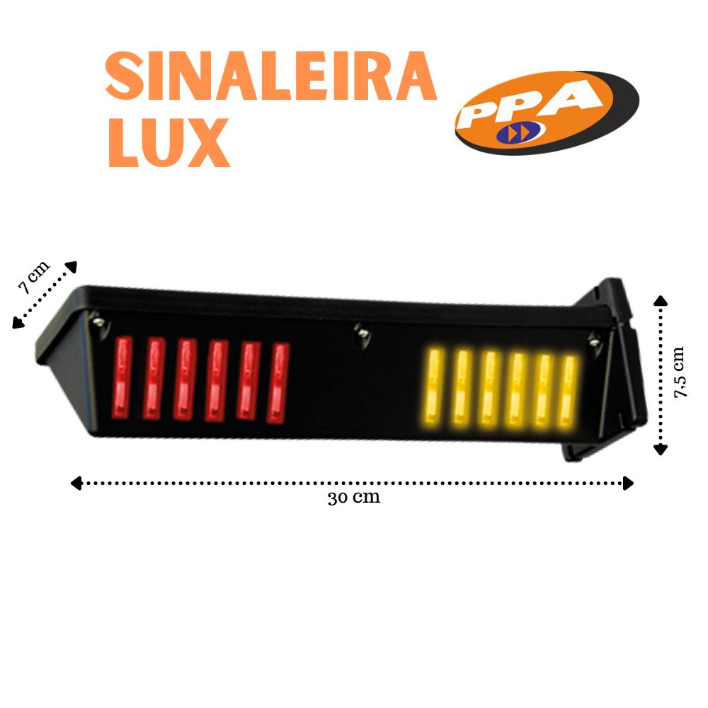 SINALEIRA LUX PARA PORTÃO GARAGEM AUDIOVISUAL PPA