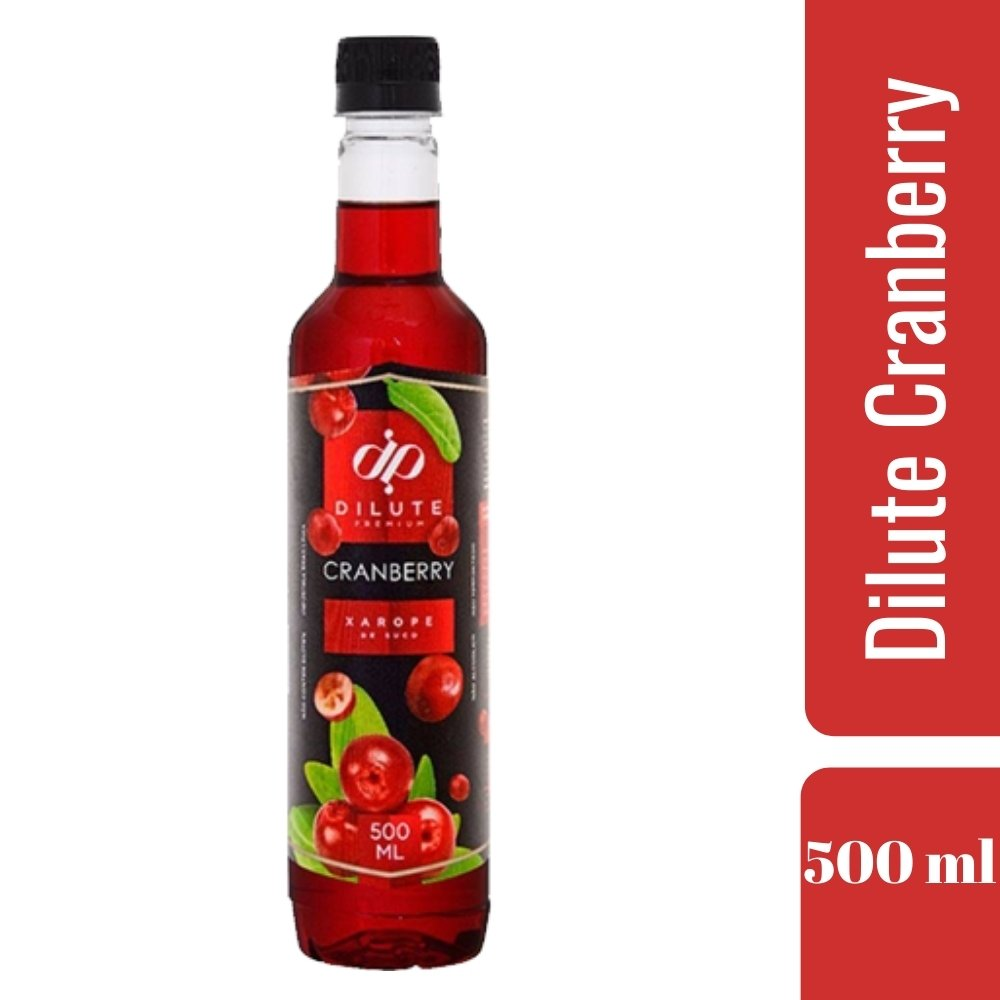 XAROPE DILUTE PREMIUM DRINKS E DOCES 500ML Cranberry