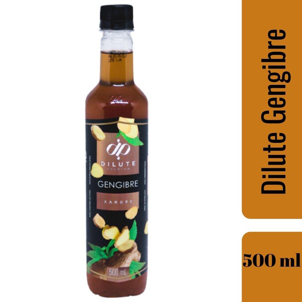 XAROPE DILUTE PREMIUM DRINKS E DOCES 500ML Gengibre