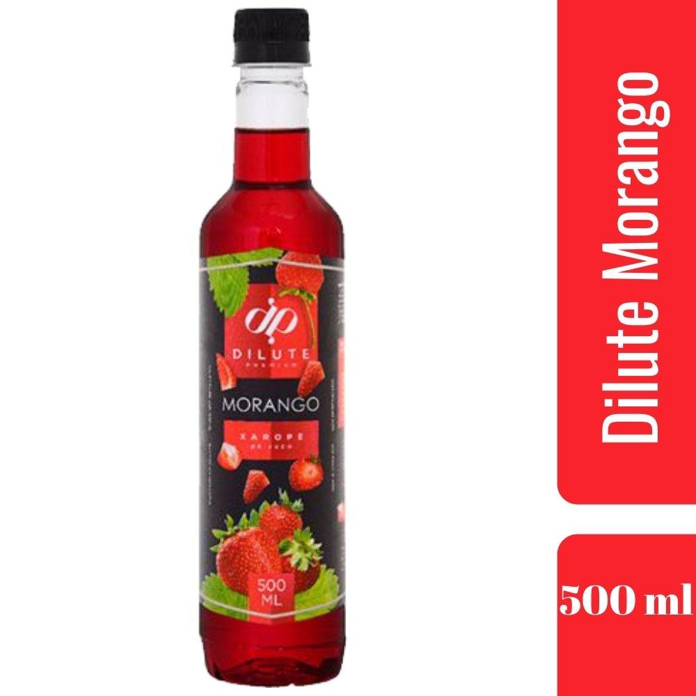 XAROPE DILUTE PREMIUM DRINKS E DOCES 500ML Morango