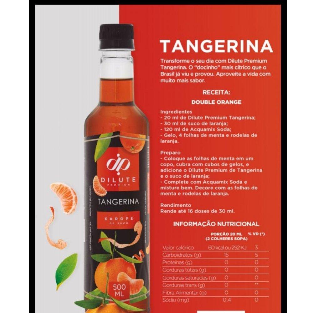 XAROPE DILUTE PREMIUM DRINKS E DOCES 500ML Tangerina