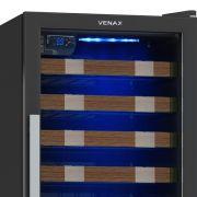 Adega PiuBella 59 Garrafas Refrigerada por Compressor  - Venax