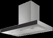 Coifa parede modelo line Inox e Vidro Touch 60cm - Design Steel