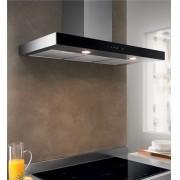 Coifa parede modelo line Inox e Vidro Touch 90cm - Design Steel