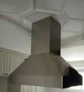 Coifa Piramidal Ilha inox 304  medidas 90cm - Design Steel