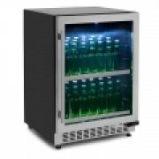 Conjunto Beer Center e Adega Porta Inox Dual Zone Built-in 45 - Elettromec