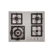 Cooktop Elettromec a Gás Quadratto inox 4 Queimadores 60cm - 220v