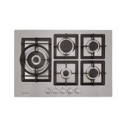 Cooktop  a Gás Quadratto inox 5 Queimadores 75cm - Elettromec