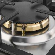 Cooktop Professionale a Gás 4 Bocas Inox 60cm 220V - Elanto