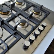 Cooktop Professionale a Gás 5 Bocas Inox 75cm 220V - Elanto