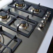 Cooktop Professionale a Gás 5 Bocas Inox 86cm 220V - Elanto