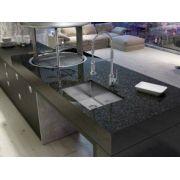 Cuba para Cozinha Quadratino 600 Inox 65x45 -  DeBacco