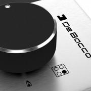 Domino Zurique Aço Inox 30cm a Gás 2 queimadores - DeBacco
