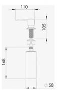 Dosador Detergente Pequeno - DeBacco