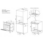 Forno Elétrico Zurique Multifunção 60cm 7 Funções- DeBacco