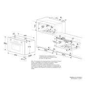 Forno Elétrico Luce Multifunção Digital 90cm - Elettromec