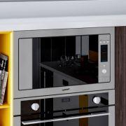Forno Micro-ondas Casual Cooking com Grill Elétrico Inox 31litros - Cuisinart