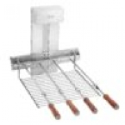 Versa grill inox 4 espetos rotativo 50cm - Felesa