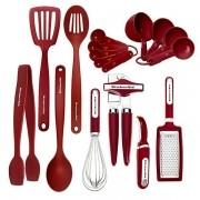 Kit de Cozinha KitchenAid17 Unidades - Vermelho