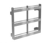 Suporte para espetos manual Linha Gourmet  - Design Steel