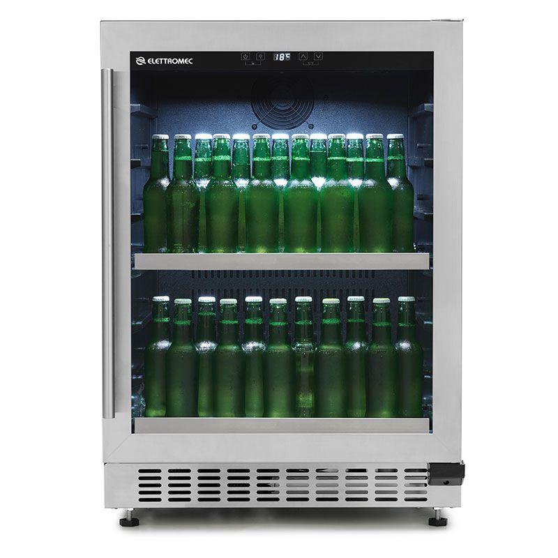 Beer Center built in inox 135 litros  - Elettromec