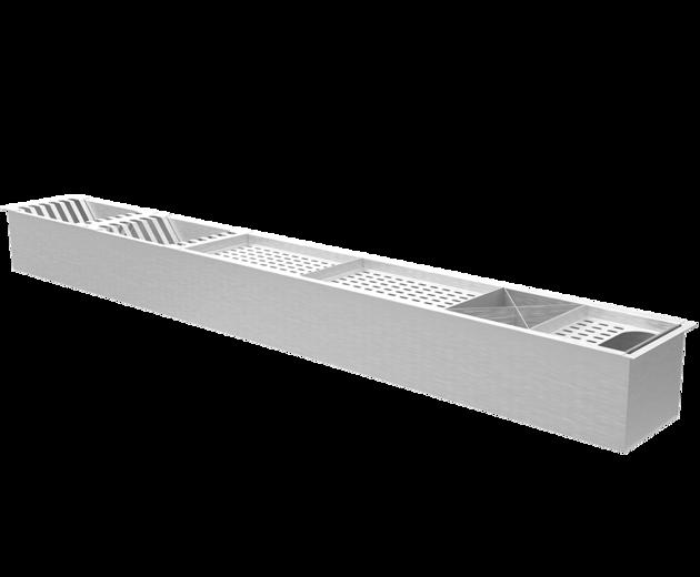 Calha Úmida de Embutir - Design Steel