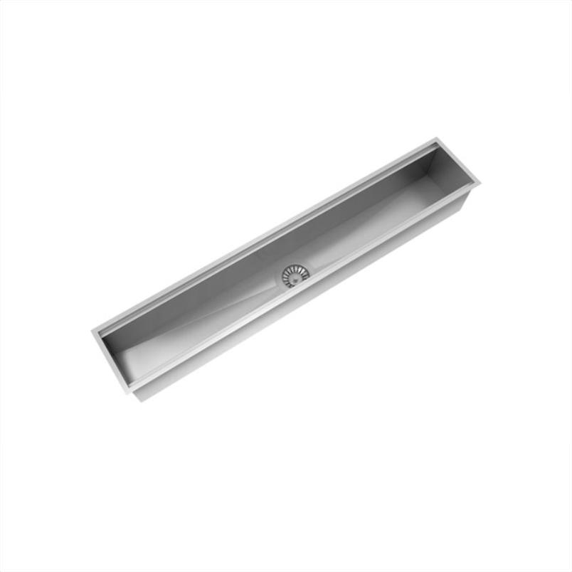 Calha Úmida Inox 304  - 600mm