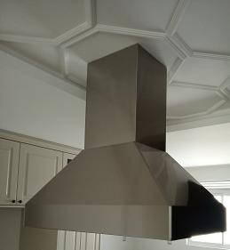 Coifa Ilha Piramidal Inox  90cm - Art & Design Premium