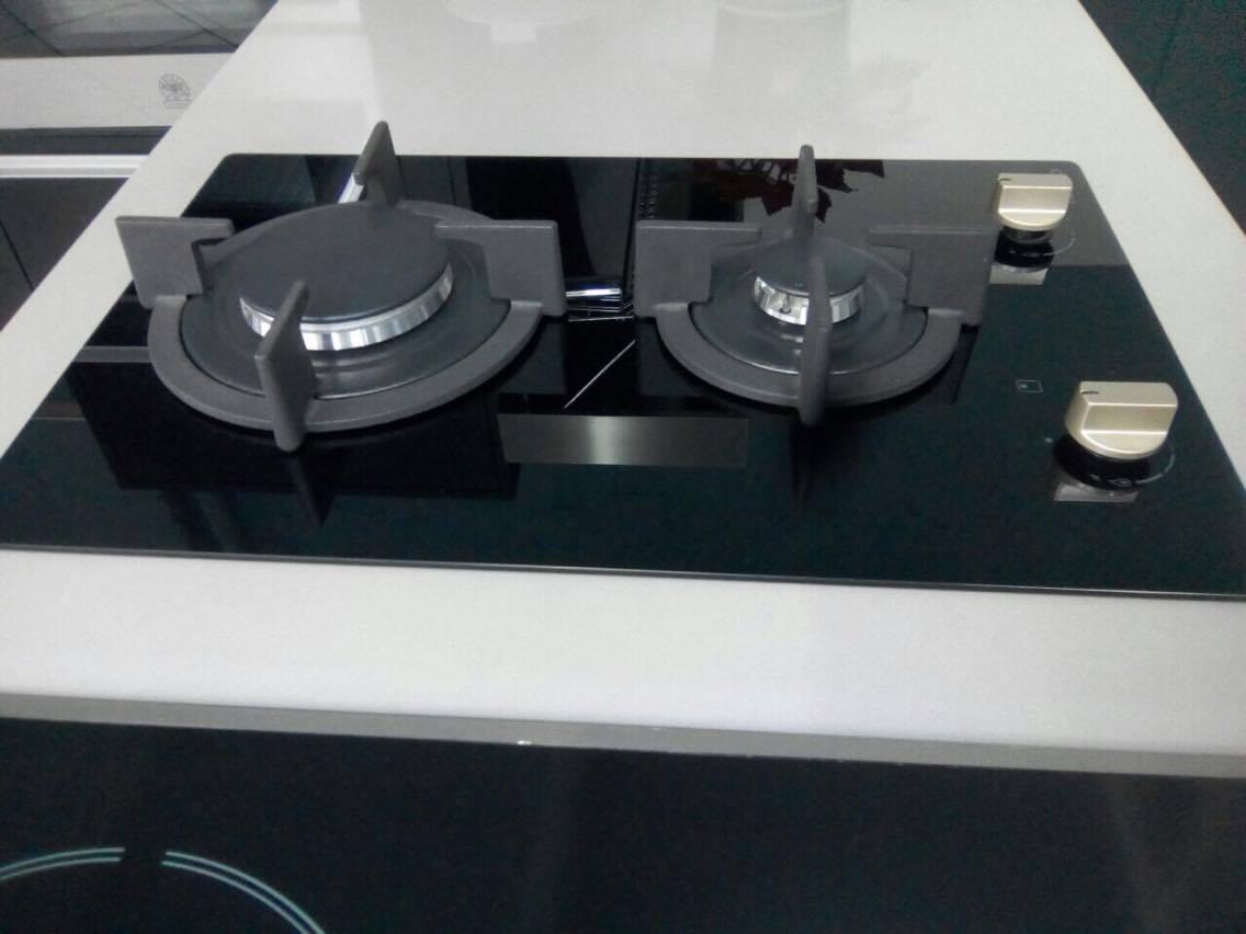 Dominó TECNO a Gás Vitrocerâmica 2 Queimadores 30cm - 220v