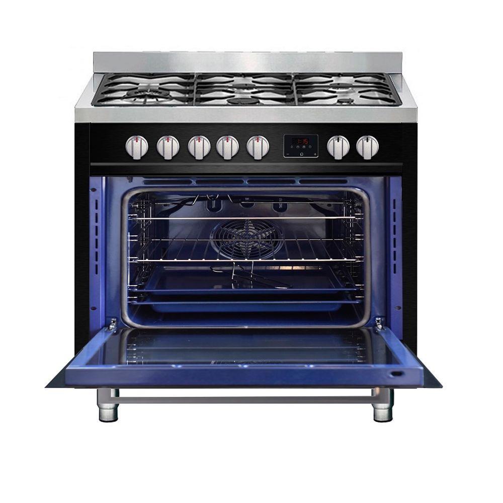 Fogão de piso a gás 90cm 05 queimadores - Cuisinart