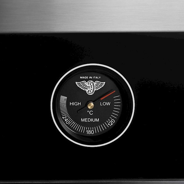 Fogão de Piso BERTAZZONI LA GERMANIA Série Futura 5 Queimadores Forno Elétrico Multifunções 90cm