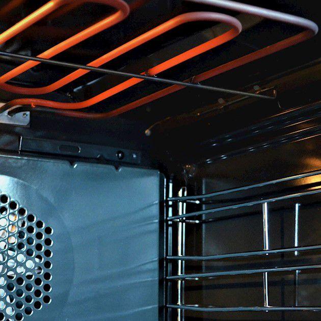 Fogão Matrix Glem 5 Bocas com Forno elétrico 120 Litros Inox 90cm 220V - Glem