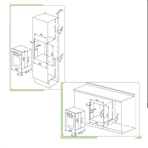 Forno Elétrico Multifunções Arkton 83 Litros Inox 60cm  - Cuisinart