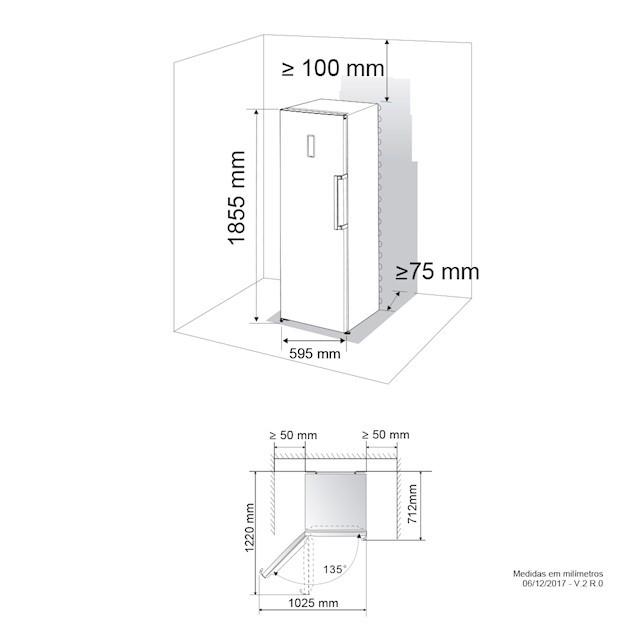Freezer Duo 262 Litros 220v - Elettromec