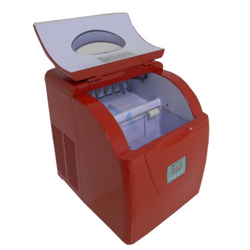 Ice Maker Elettromec Portátil Vermelha