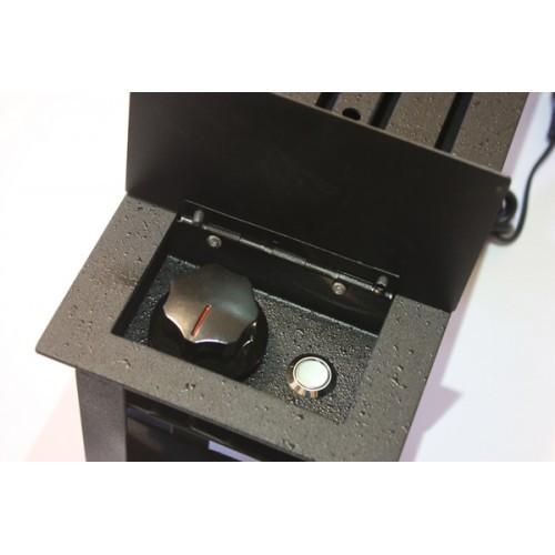 Lareira à Gás de Aço Carbono Luna - 80 cm