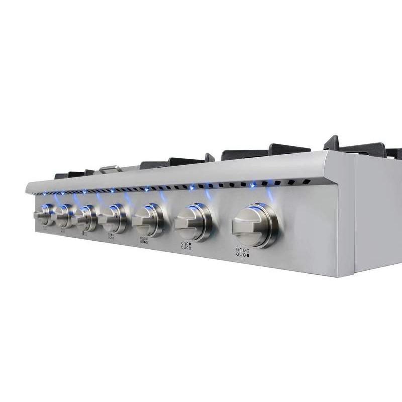 Rangetop Estilo Profissional inox 1.20cm 220v - CookerHood
