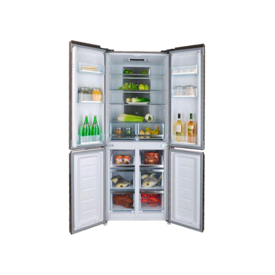 Refrigerador inox 04 portas  - Cuisinart