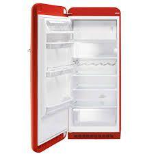 Refrigerador retro vermelho ano 50 - 247 litros - -Smeg