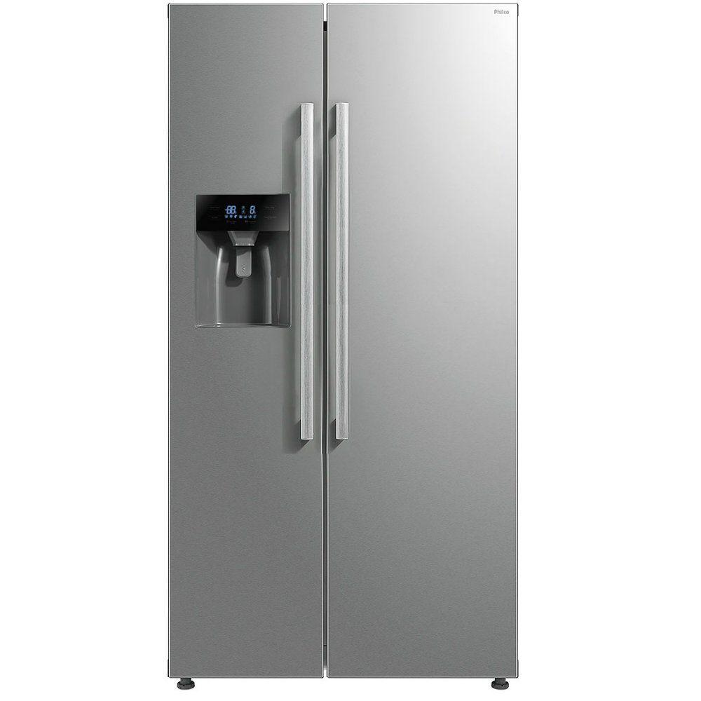 Refrigerador Side by Side inox 520 Litros - Philco
