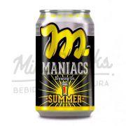 Cerveja Maniacs Summer Lata 350ml