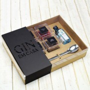 Kit Kraft Gin Tônica Em Casa Bombay Sapphire Minidrinks