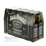 Pack 12 Un Mini Whisky Jack Daniels 50ml
