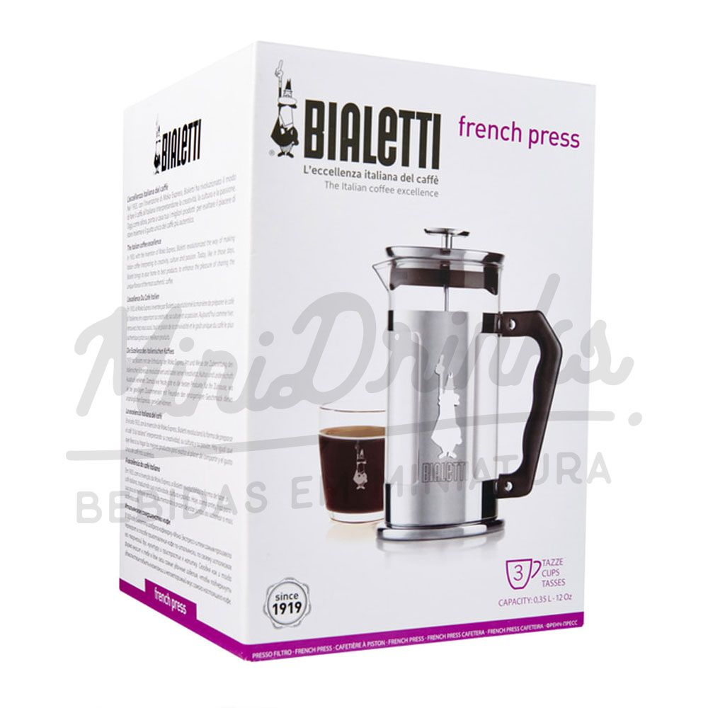 Cafeteira Bialetti French Press 350ml