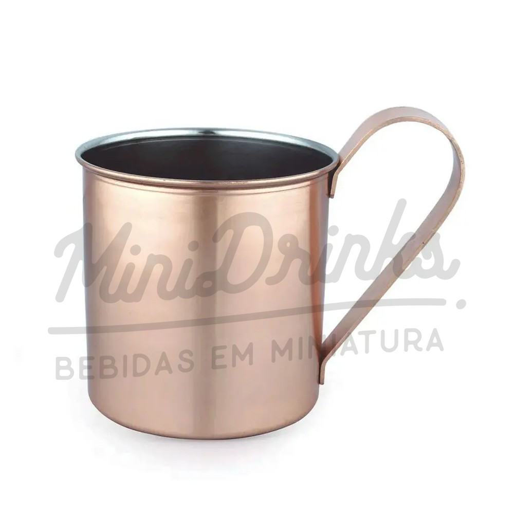 Caneca Moscow Mule Lisa Bronze Mimo Style