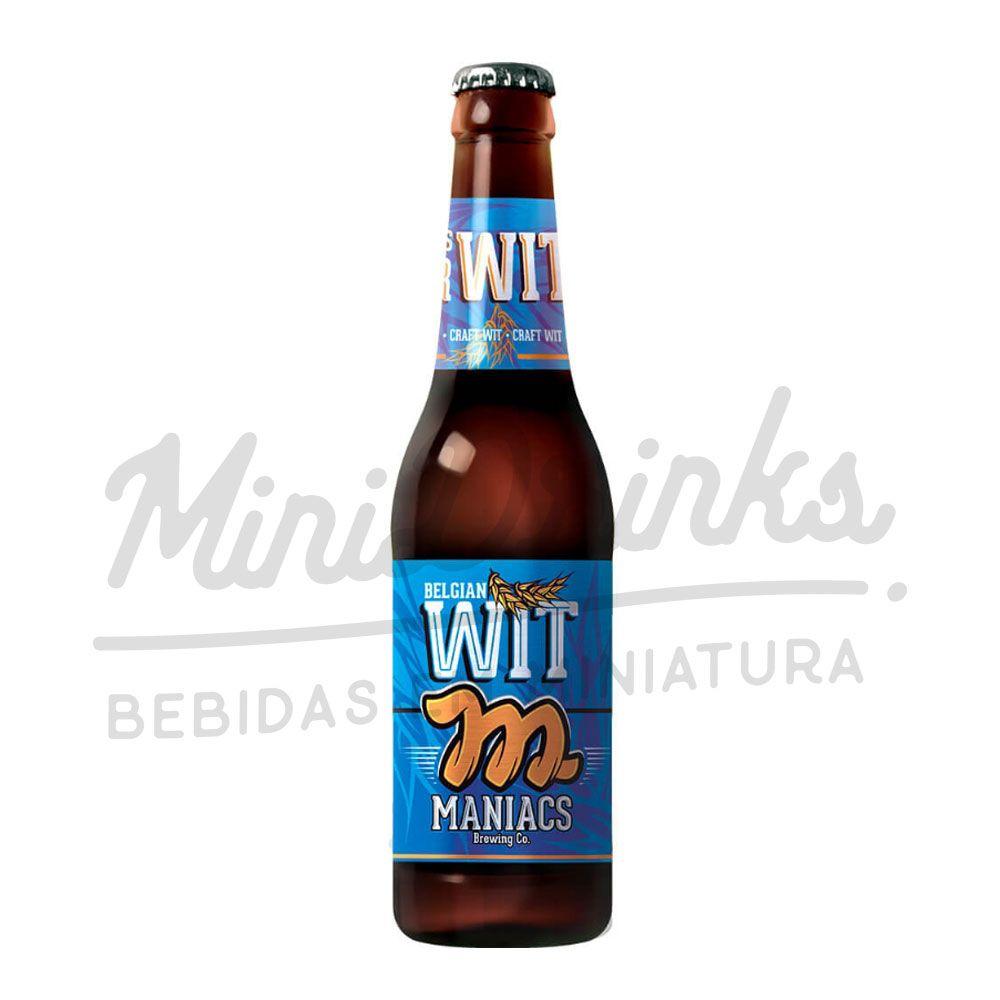 Cerveja Maniacs Belgian Wit 355ml