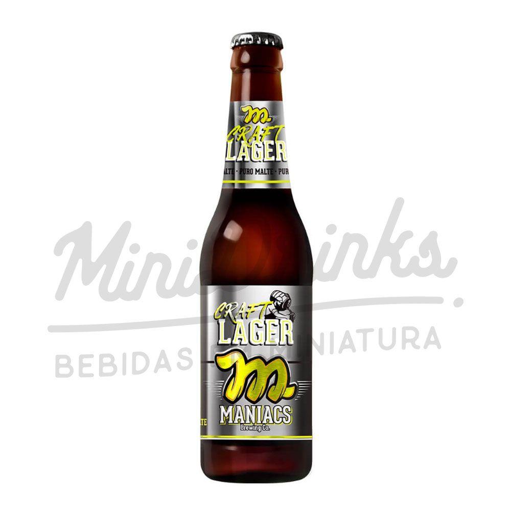Cerveja Maniacs Craft Lager 355ml