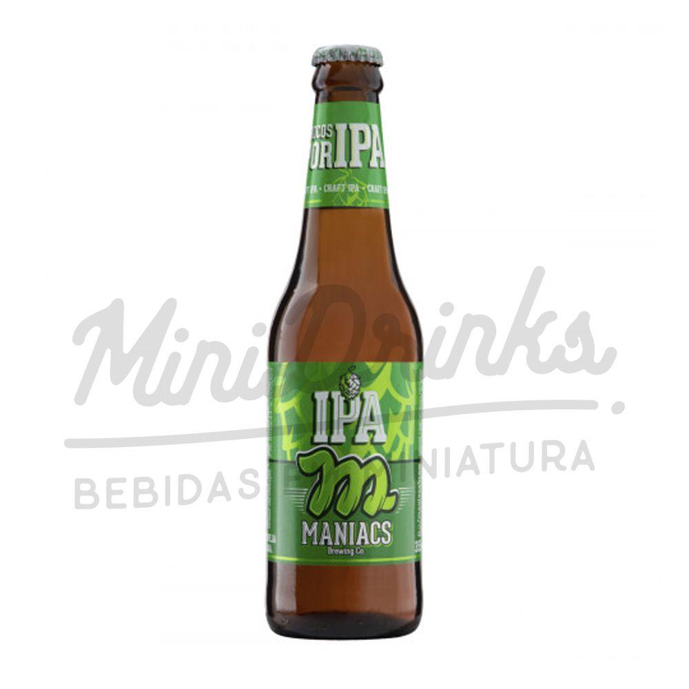 Cerveja Maniacs IPA 355ml