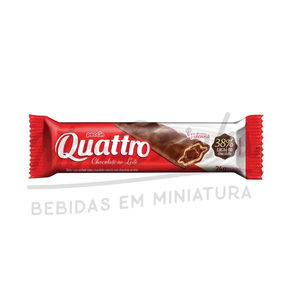 Chocolate Quattro ao Leite 24g