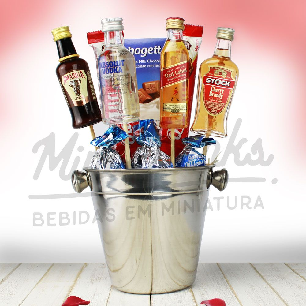 Kit Buquê Basic Minidrinks